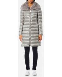 Herno - Women's Woven Coat - Lyst