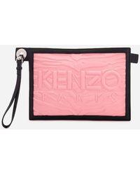 KENZO - Women's Kanvas A5 Pouch - Lyst