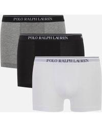 Polo Ralph Lauren - Men's 3 Pack Boxer Shorts - Lyst