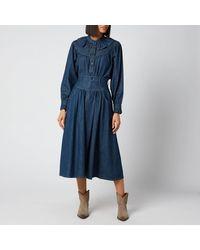 See By Chloé Flou Denim Shirt - Blue