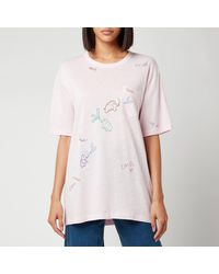 COACH T-shirt With Pocket - Pink