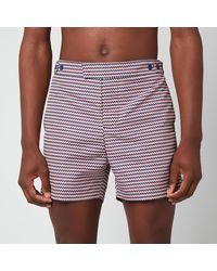 Frescobol Carioca Copacabana Tailored Shorts - Brown