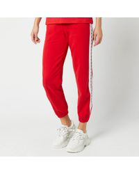 MSGM Joggers - Red