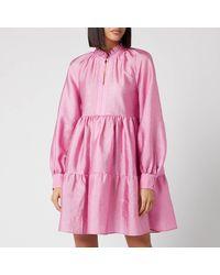 Stine Goya Jasmine Mini Dress - Pink