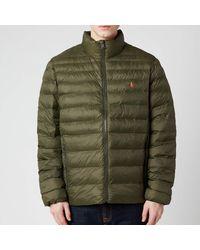 Polo Ralph Lauren Recycled Nylon Terra Jacket - Brown