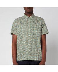 A.P.C. Cippi Short Sleeve Shirt - Green