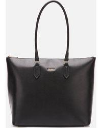Furla Pin M Tote Bag - Black