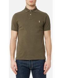 Polo Ralph Lauren - Men's Short Sleeve Weathered Mesh Shirt - Lyst