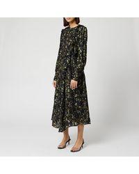 Preen By Thornton Bregazzi Dotted Jaquard Nicola Dress - Black