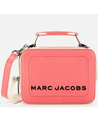 Marc Jacobs The Box 20 Textured Color Blocked - Pink
