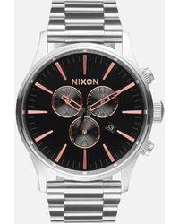 Nixon - The Sentry Chrono Watch - Lyst