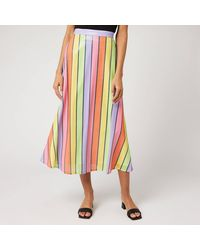 Olivia Rubin Penelope Sequin Skirt - Multicolour