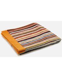 Paul Smith - Accessories Men's Classic Stripe Small Towel - Lyst