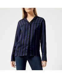 KENZO - Women's Medium Stripes Pyjama Top - Lyst