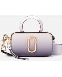 Marc Jacobs The Snapshot Resin Handle Bag - Gray