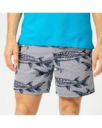 Vilebrequin - Moorea Large Fish Print Swim Shorts - Lyst