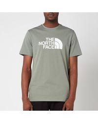 The North Face Easy Eu Short Sleeve T-shirt - Gray