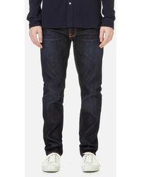 Nudie Jeans - Men's Fearless Freddie Carrot Fit Jeans - Lyst