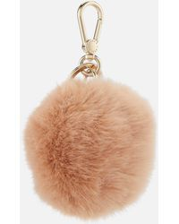 Furla Bubble Pom Pom Keyring - Multicolour
