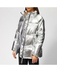 Tommy Hilfiger - Women's Icon High Gloss Coat - Lyst