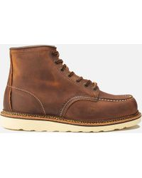 Red Wing - 6 Inch Moc Toe Double Welt Leather Lace Up Boots - Lyst
