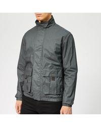 Woolrich Papery Popeline Track Jacket - Gray