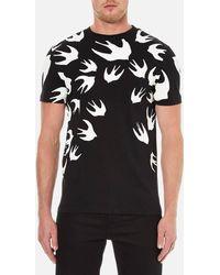 McQ - Large Swallows T-shirt - Lyst