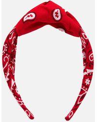 ARIZONA LOVE Bandana Headband - Red