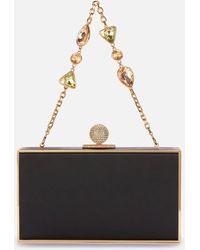 Sophia Webster Clara Bijou Box Clutch Bag - Black