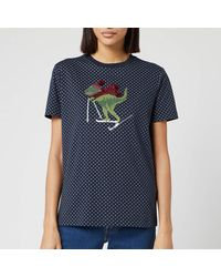 COACH Rexy Dot T-shirt - Blue