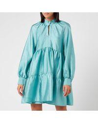 Stine Goya - Jasmine Tiered Mini Dress - Lyst