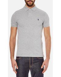 Polo Ralph Lauren - Men's Slim Fit Short Sleeved Polo Shirt - Lyst