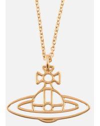 Vivienne Westwood - 3d Orb Necklace - Lyst