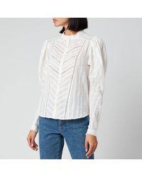 Étoile Isabel Marant Reafi Top - White