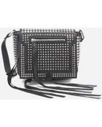 McQ Women's Studded Mini Cross Body Bag - Black