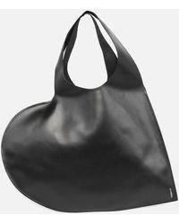 Coperni Heart Tote Bag - Black
