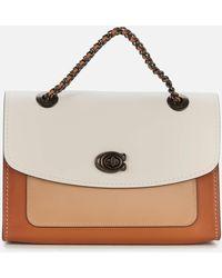 COACH - Colorblock Leather Parker Shoulder Bag - Lyst