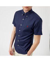 Polo Ralph Lauren - Men's Short Sleeve Chino Shirt - Lyst
