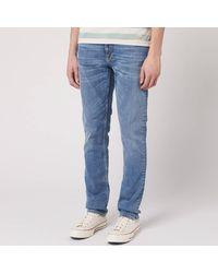 Nudie Jeans Lean Dean Jeans - Blue
