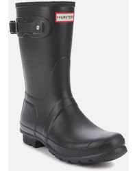 HUNTER - Original Short Wellies - Lyst