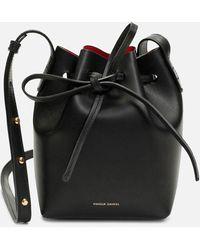 Mansur Gavriel Mini Mini Bucket Bag - Black