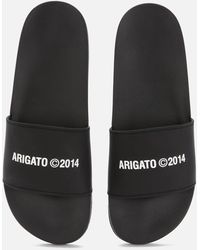 Axel Arigato Slide Sandals - Black