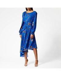 Preen By Thornton Bregazzi Diana Dress - Blue