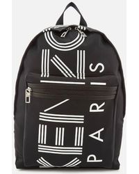 KENZO - Sport Logo Backpack - Lyst