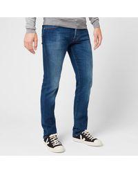 Jacob Cohen Red Badge Slim Denim Jeans - Blue