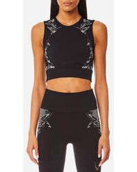 Lucas Hugh - Women's Hummingbird Crop Top - Lyst
