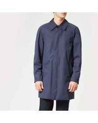 Aquascutum - Kenmore Heritage Raglan Raincoat - Lyst