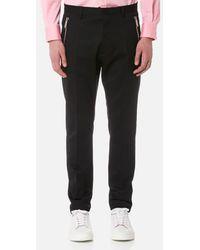 DSquared²   Men's Zip Detail Hockney Fit Trousers   Lyst