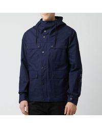 KENZO Parka Coat - Blue