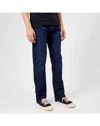 Emporio Armani 5 Pocket Slim Denim Jeans - Blue